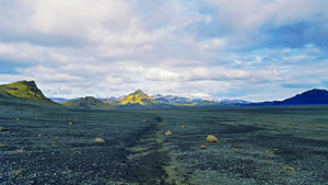 Walking the laugavegur trail in Iceland