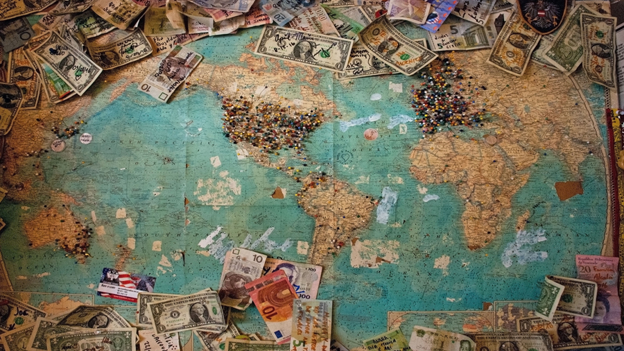 Money and WorldMap
