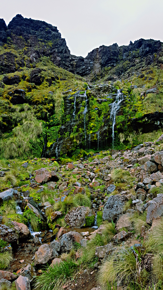 Soda stream on the tongariro crossing