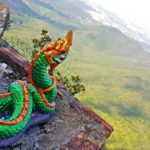 Dragon from the Wat Phra That Temple of Doi Ngum