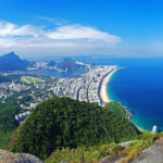 View from the top of Dos Irmaos in Rio