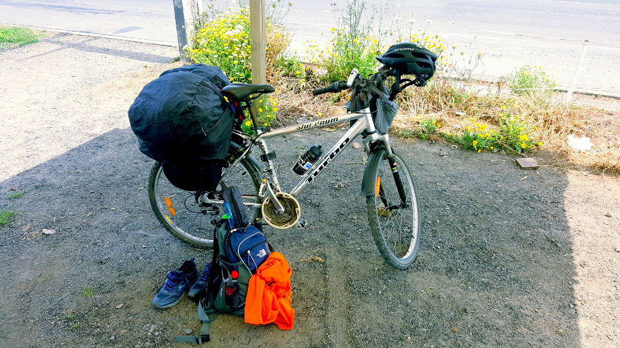 The bike and the crappy gear