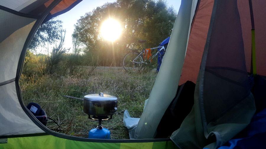 Camping somwhere