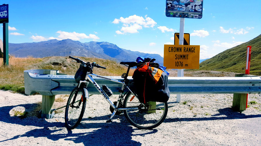 Up the Cardrona Pass