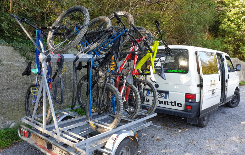 Bike Shuttle Rack Finale